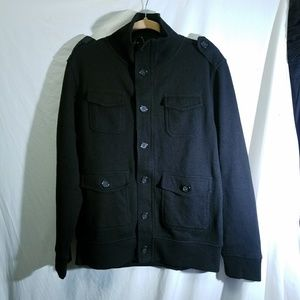 BANANA REPUBLIC Black Sweater Jacket